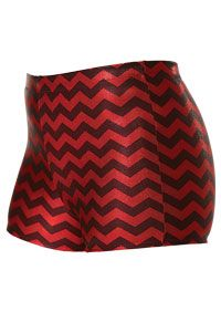 Metallic Chevron Boy-Cut Brief | Cheer Briefs | Team Cheer