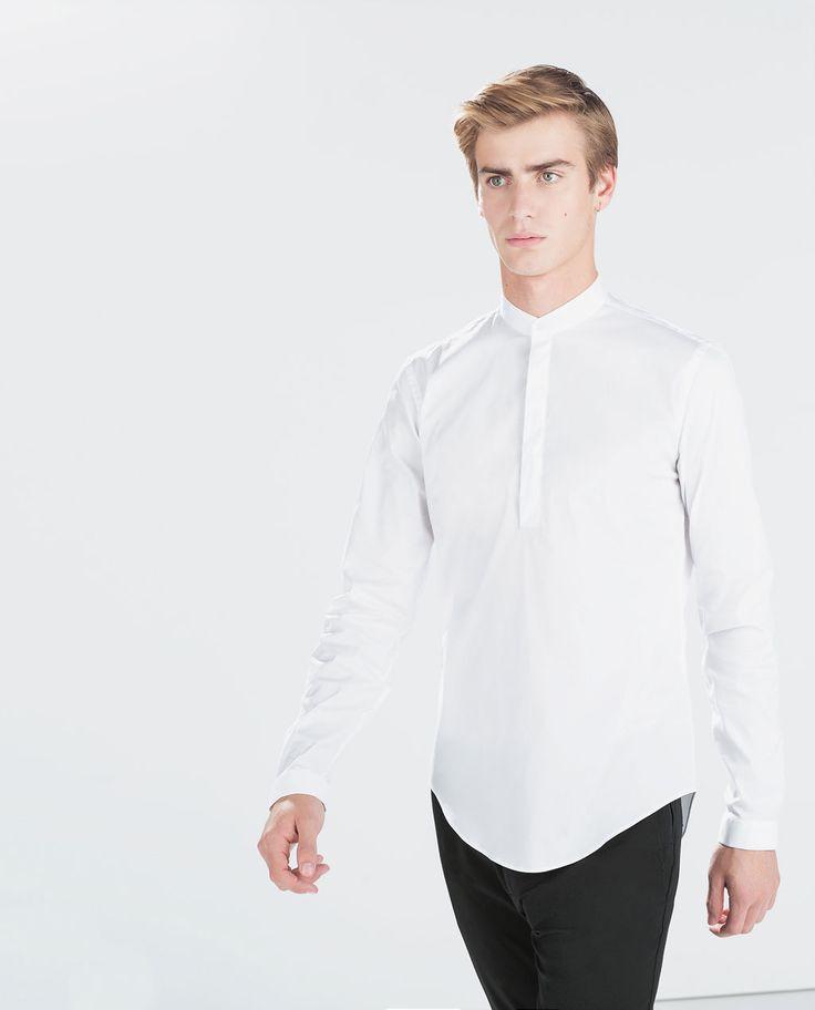 1000 id es propos de chemise col mao homme sur pinterest col mao chemise col mao et. Black Bedroom Furniture Sets. Home Design Ideas