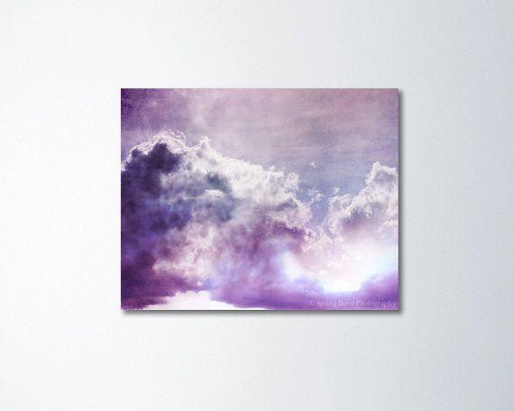 abstract canvas art purple canvas art fine art by springburst