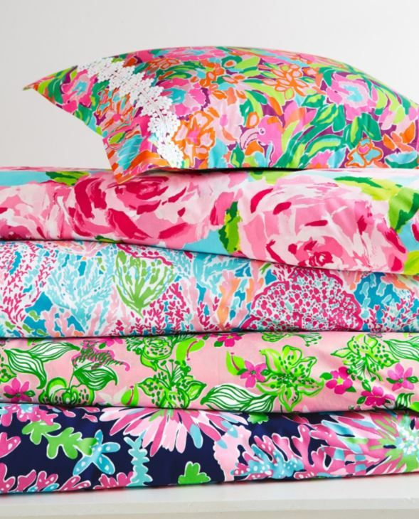Lilly Pulitzer Sister Florals Duvet Cover Collection by Garnet Hill