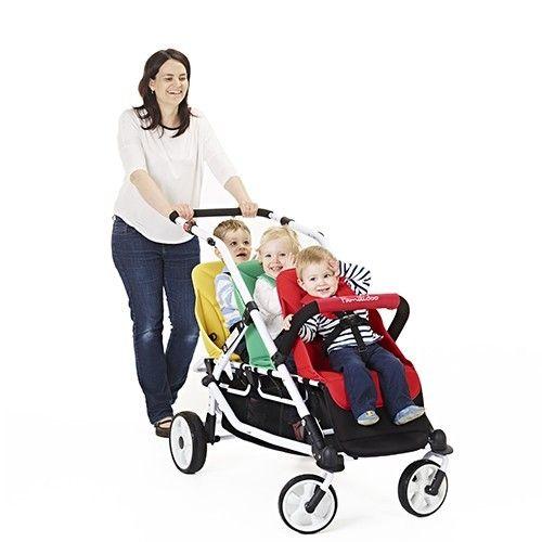 La poussette Lidoo 3 est un modèle à 3 places de la marque Familidoo. Conçue pour les enfants à partir de 6 mois à 18 kg, cette poussette avec habillage pluie inclus est sélectionnée pour vous par Univers Poussette.