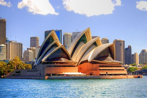 See the Sydney opera house