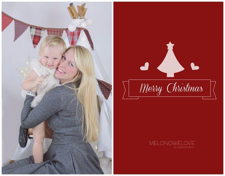 sesja świąteczna, kartka świąteczna ze zdjęciem