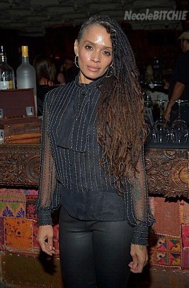 Lisa Bonet Rocks Grey Hair, i hope my locs look good as they turn grey. :: #dreadstop