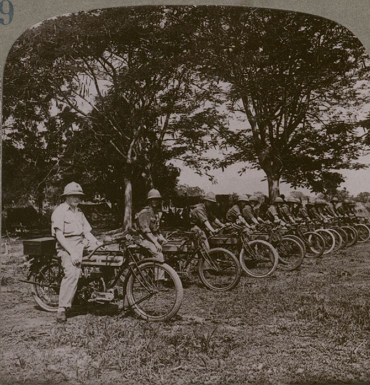 Dispatch Riders in German East Africa.1910s