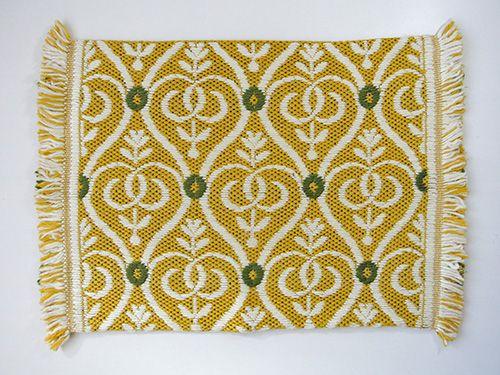 緑園|東欧雑貨 ドイツ 刺繍クッションカバー