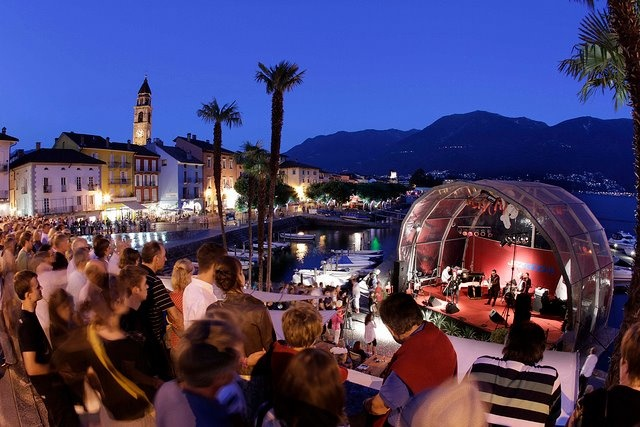 JazzAscona is a festival specialized in classic jazz and the music of New Orleans, a grand festival that takes place in a small quaint town and has presented some of the world's greatest jazz musicians.  Located in Ascona, a charming setting, on the beautiful shores of Lake Maggiore, in the most Southern, Italian-speaking, part of Switzerland, this is a must for jazz fans of any age and taste, a chance to discover undiscovered gems and to appreciate the talent of great stars.
