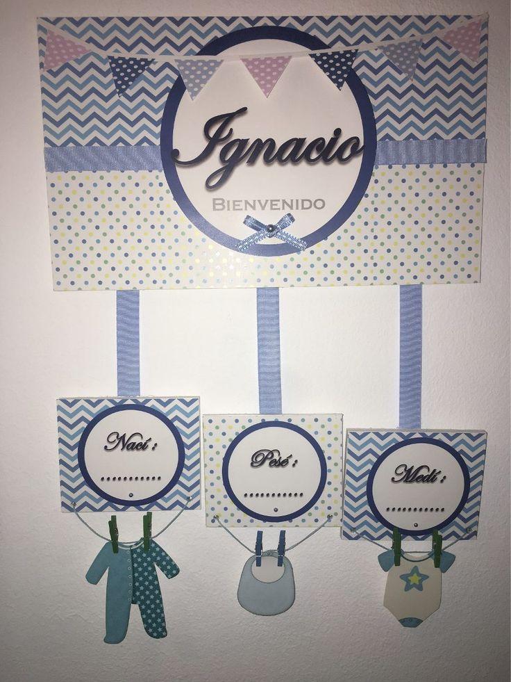 Cartel De Bienvenida Clínica Bebe Regalo Nacimiento  - $ 500,00