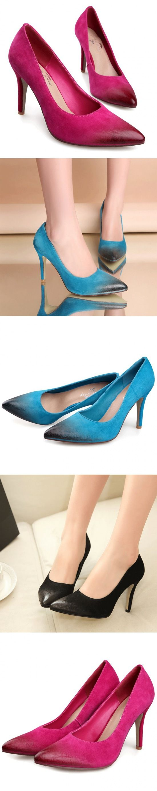 camo color cork bottom shoes