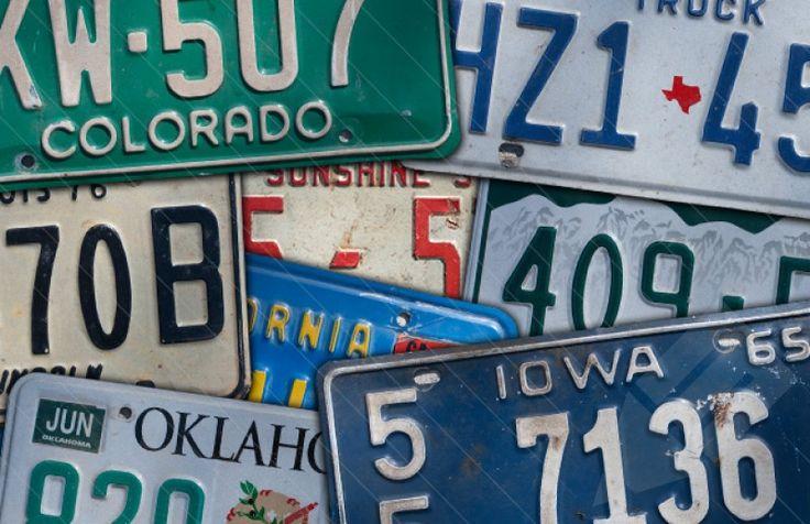 Medialoot - Vintage License Plates