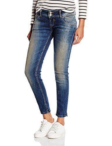 LTB Jeans GEORGET - Jeans - Slim - Femme Pour en savoir + suivez ce lien : https://www.pifmarket.com/boutique/mode-et-beaute/ltb-jeans-georget-jeans-slim-femme/