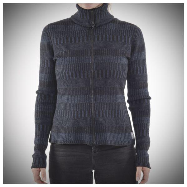 Tordyvel —Organic Woolwear from Sweden Nalta Cardigan blue/black