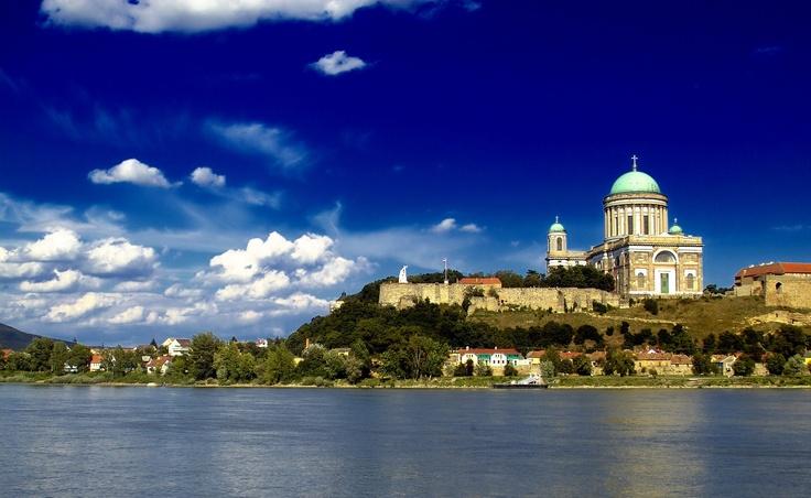 Ezstergom with Danube River
