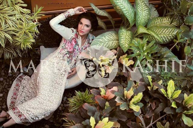Maria Kashif Latest Semi Formal Outfits 2013 For Women  (2)