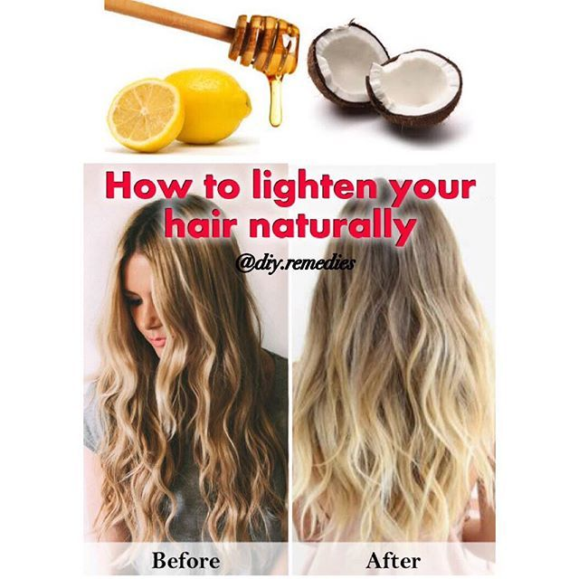 How To Make Brown Hair Lighter Naturally