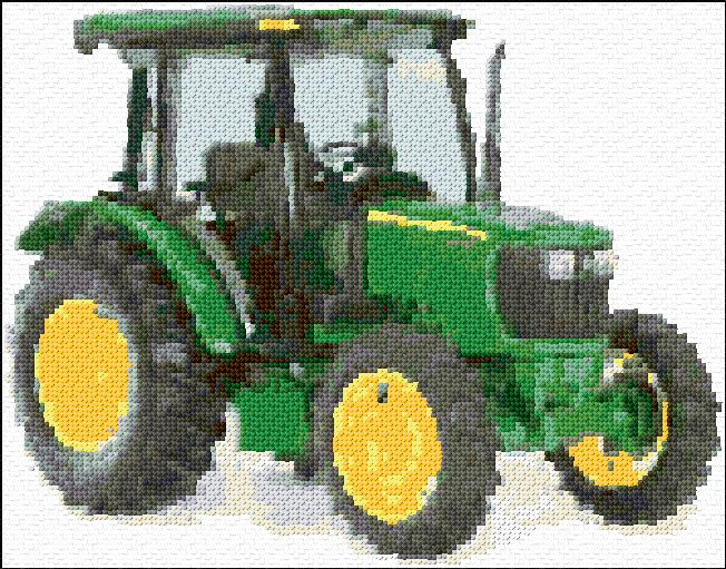 John Deere Tractor graph and chart download in pdf from website