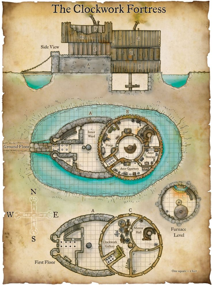 The Clockwork Fortress