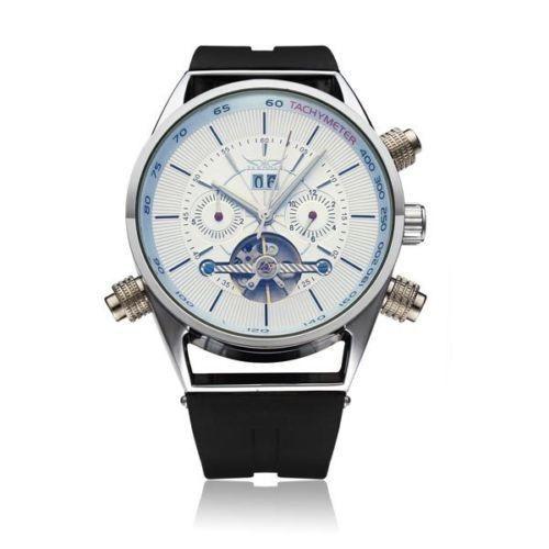 JARAGAR Automatic Mechanical Silicone Commercial Casual Watch #jaragar #Fashion