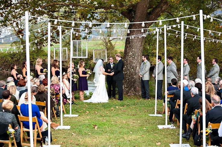 Adorable backyard wedding with so many DIY details!  Photo by @Ben Silbermann Finch   #wedding #DIY  http://www.thebridelink.com/blog/2013/04/21/tennessee-wedding-by-ben-finch-photography/