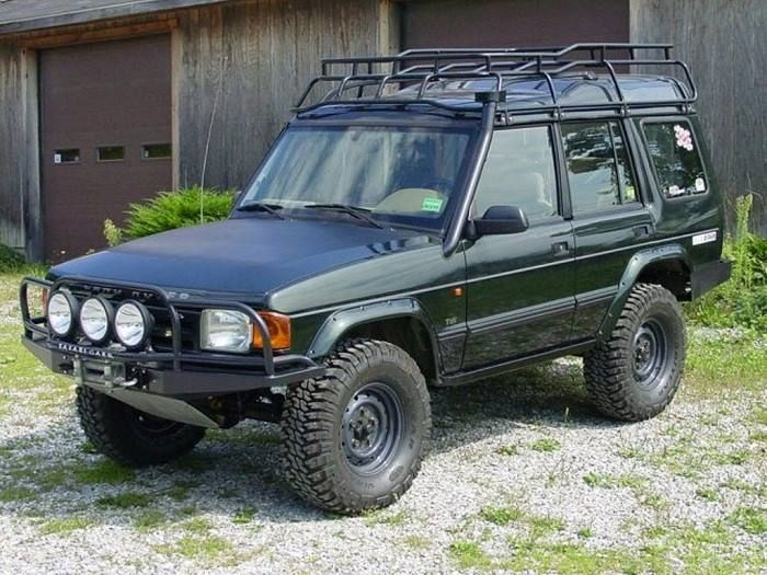 Kitted out Land Rover Discovery.
