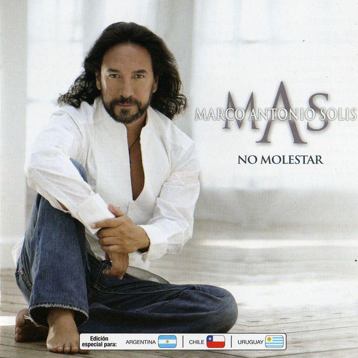 """caratulas del ultimo cd de Marco Antonio Solis """"No Molestar"""""""