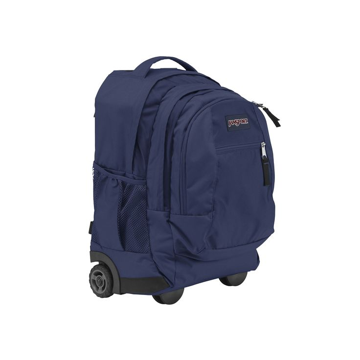 JanSport Driver 8 Wheeled 15-in. Laptop Backpack, Blue, Durable