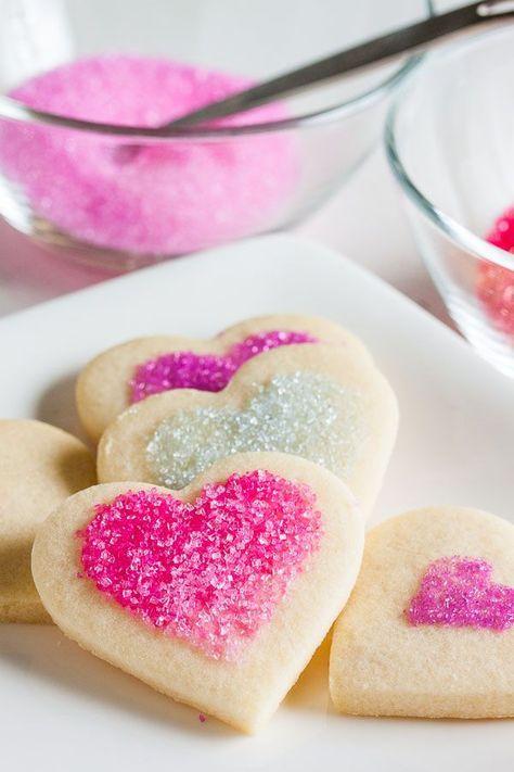Ideas de postres en San Valentín 2015: Galletas de corazón