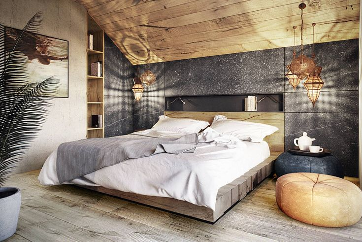 Bielsko-Biała, dom - 230m2 : Modernistyczna sypialnia od razoo-architekci