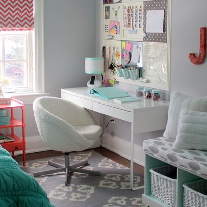 Best 25 teen desk organization ideas on pinterest teen bedroom desk bureau desk and diy - Amazing teenage girl desks ...