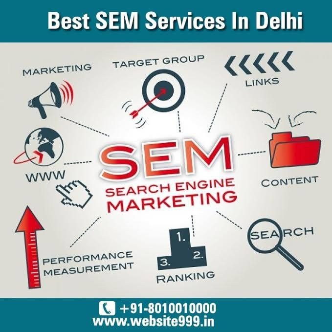 ‪#‎SEM‬ Services In ‪#‎DelhiNCR‬, ‪#‎India‬ - ‪#‎Website999‬ helps in improving the ‪#‎visibility‬ of your ‪#‎business‬ online, increase ‪#‎traffic‬ for your ‪#‎product‬ & ‪#‎services‬. To know more visit @ http://ow.ly/JetFC