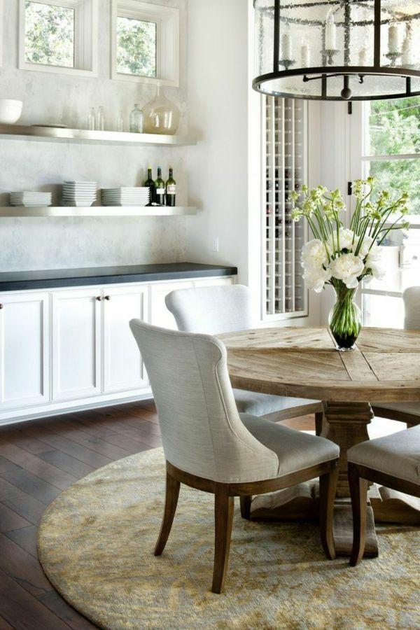 47 besten Esszimmer - Esstisch mit Stühlen - Esstisch - essecke wandgestaltung