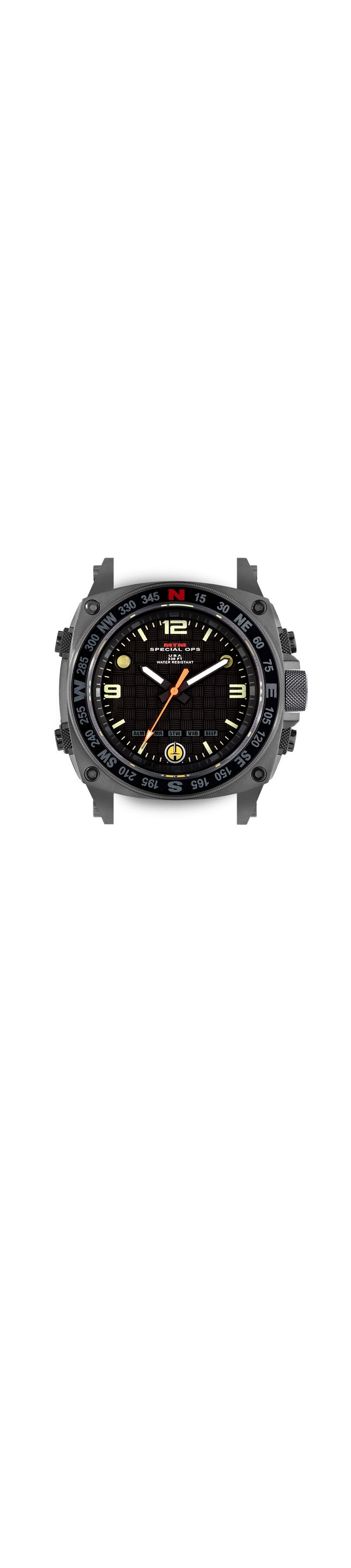 Digital Analog Watch | Gray Silencer | MTM Special Ops Watches