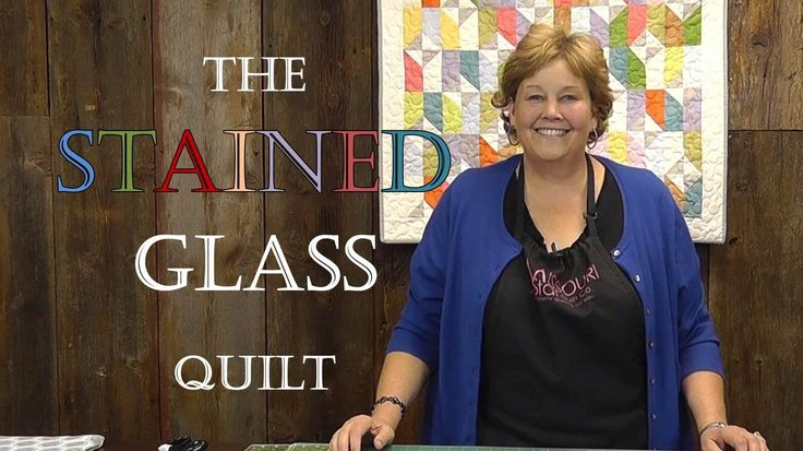 The Stained Glass Quilt Tutorial