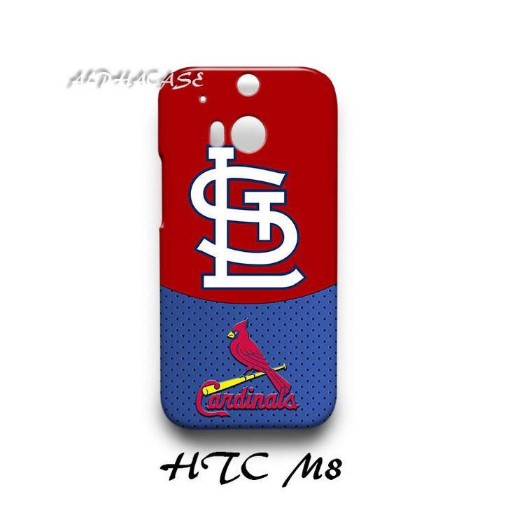 St. Louis Cardinals HTC M8 Hardshell Case Cover