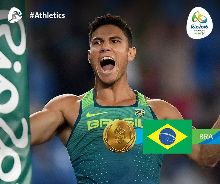 Just like that, the host nation Brazil wins its second Gold in front of the home crowd