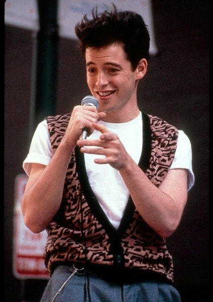 Bueller, Ferris Bueller. My first crush.