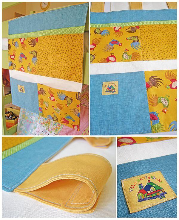 Carrot style: Детская комната ( шторина, кармашки, занавески ).