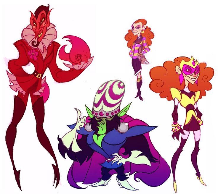 Powerpuff Girls Doodledump-10 by Busterella.deviantart.com on @DeviantArt