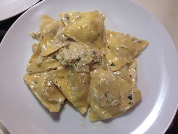 91 best pasta gf if possible images on pinterest drink for Pumpkin cannelloni with sage brown butter sauce