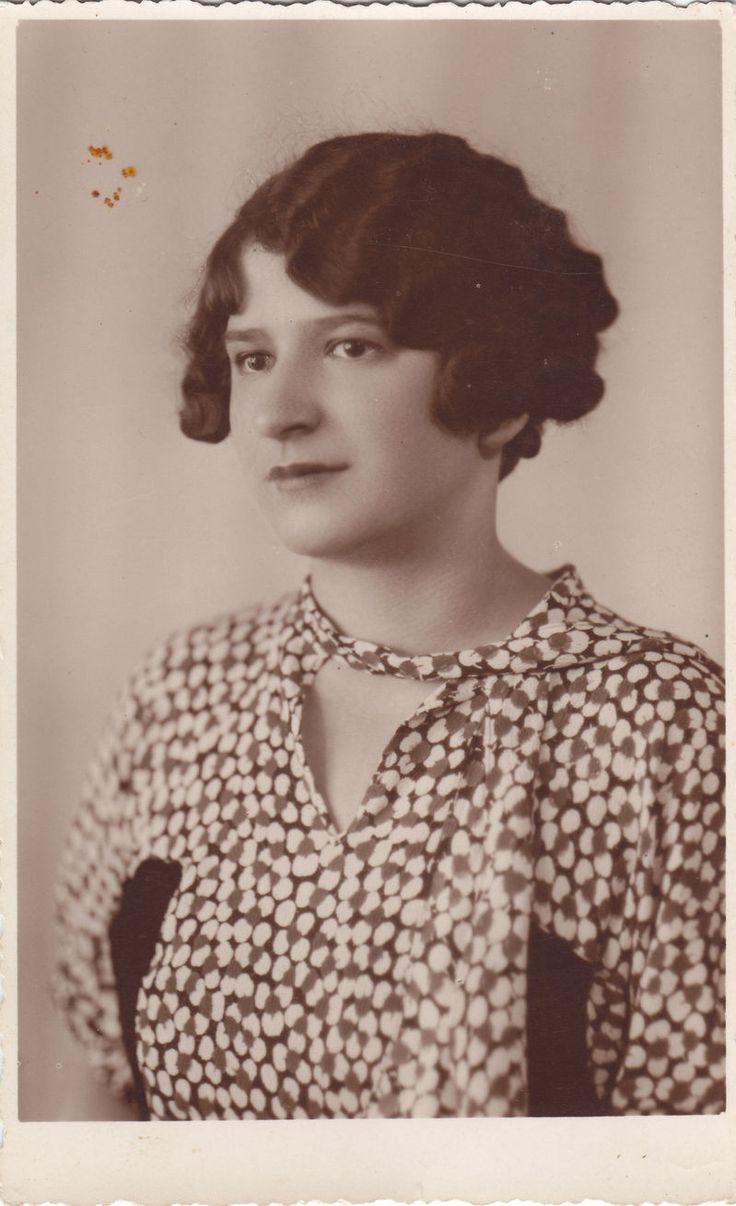 Another photograph of Anna Malinová. She was arrested by Gestapo on June 26, 1942. Foto: Rodinný archiv Aleny Voštové