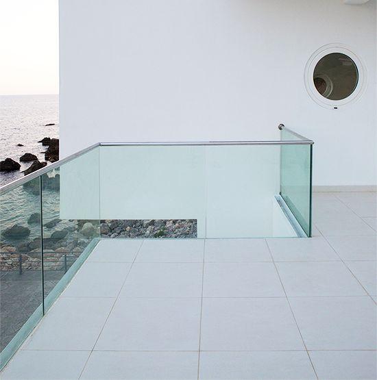 balkonbeglazing balkon designterrassendecksgelnderterrassen treppenichtsarchitekturglasnothing - Terrassen Gelander Design