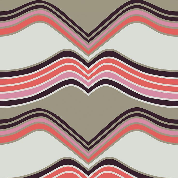 Laava Taupe // Metsovaara Premium Print collection from Materialised www.materialised.com  #metsovaara #print #collection #premium #pattern #textile #fabric #interiordesign #materialised