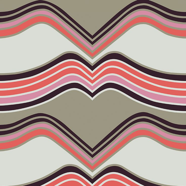 Laava Taupe // Metsovaara Premium Print collection from Materialised www.materialised.com  #metsovaara #print #collection #premium #pattern #textile #fabric #interiordesign #materialised