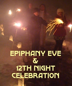 Epiphany Eve;  Christian Religious Celebration;  January 5;  Also called Twelfth Night.  Traditional end of the Christmas season in many countries.  In places where Epiphany, or Three Kings Day, is celebrated, Twelfth Night is a time of merrymaking.