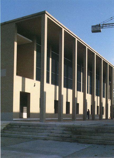 Giorgio Grassi - Casa dello studente dell'Università di Chieti (1976-Never completed)