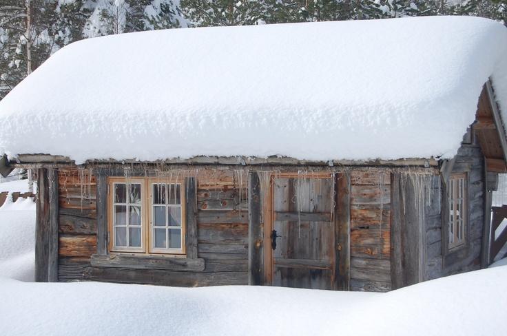 The little cabin,home at my dad..  Gjøra.Møre og Romsdal.Norway