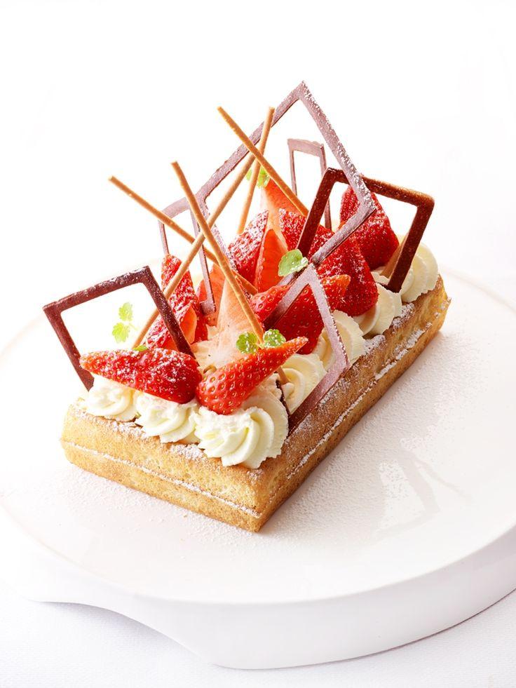 Wafel met aardbeien  - recept met aardbeien - Zonnigfruit