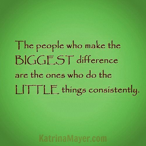 Quotes About Small Things Making A Difference. QuotesGram