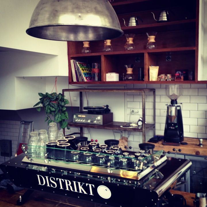 Lot Sixty One Coffee Roasters in Amsterdam, Noord-Holland