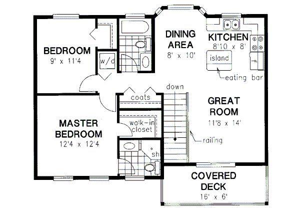 50 best garage plans images on pinterest garage for Garage with suite above plans